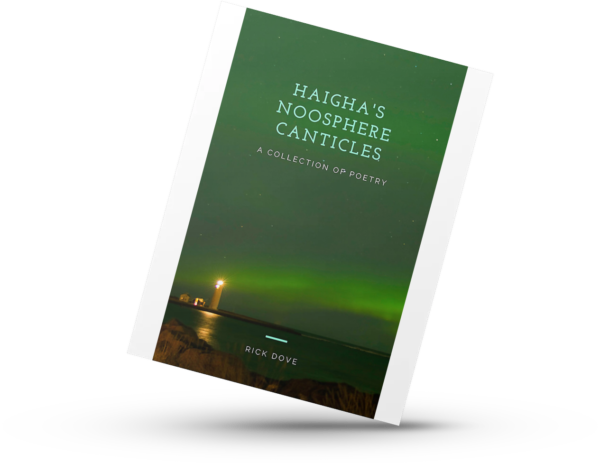Haigh's Noosphere Canticles. Poetry book