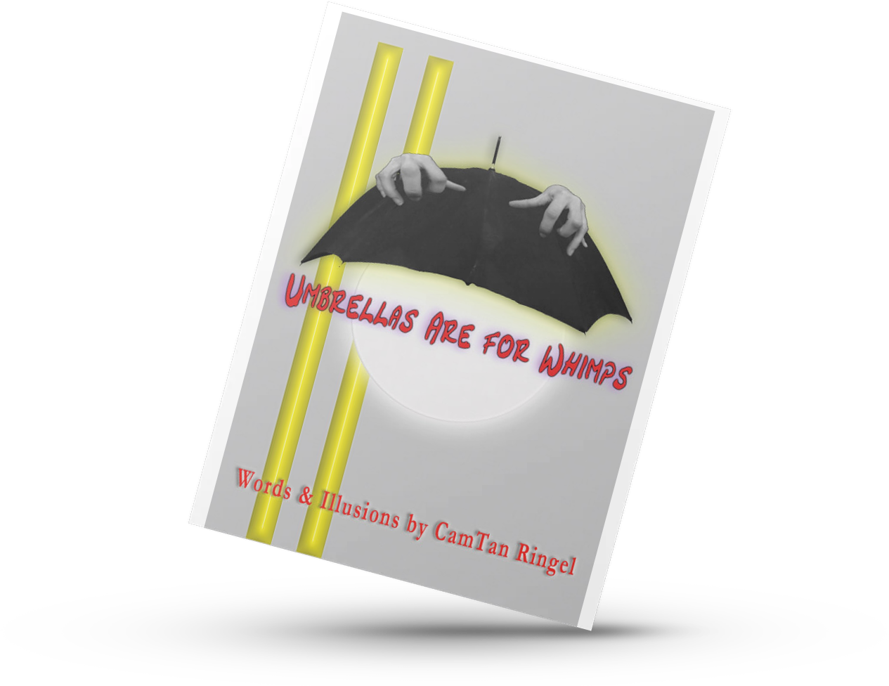 Umbrellas are for Whimps. poetry book