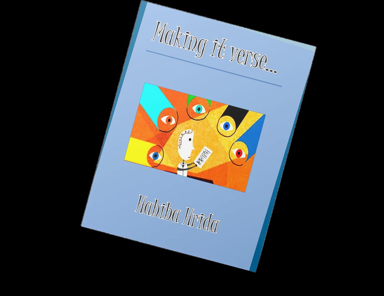 Making it Verse poetry book