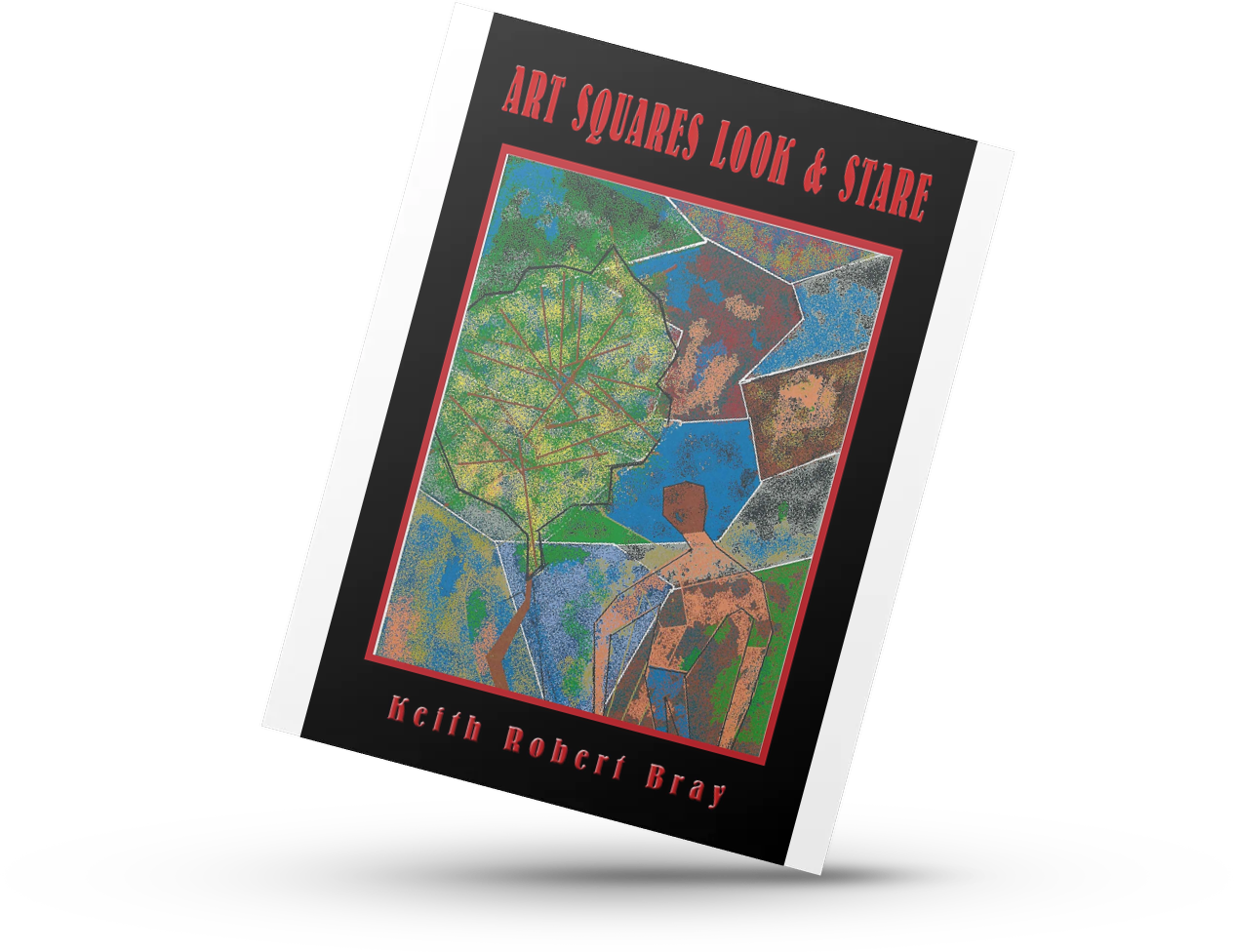 Art Squares Look & Stare poetry book