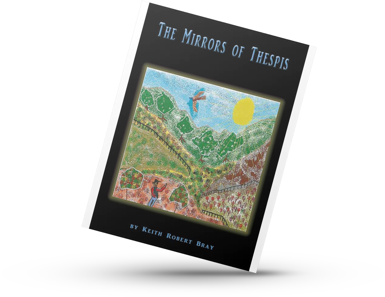 the mirrors OF Thespis. poetry book